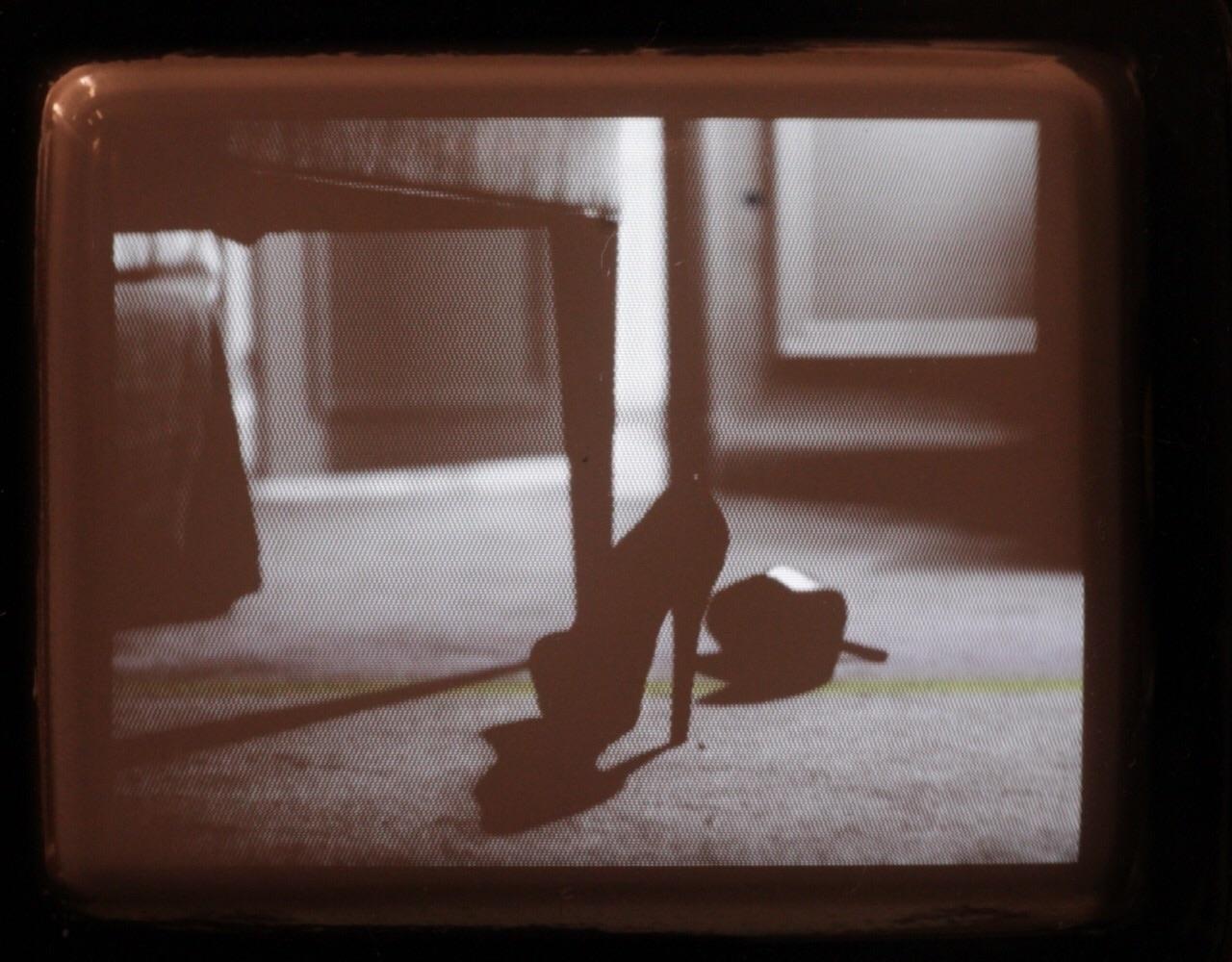 Heels on floor